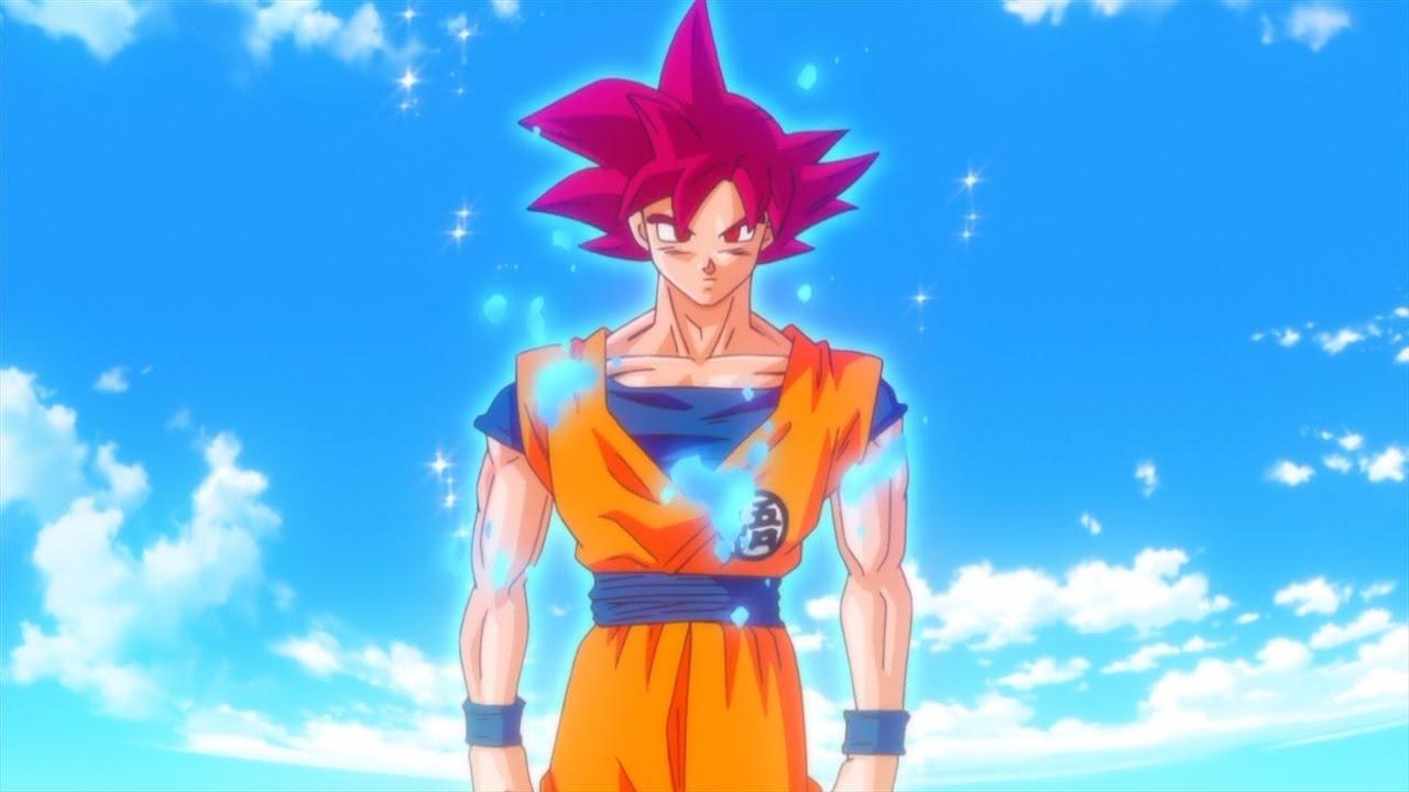 Dessin Speed Drawing Goku God
