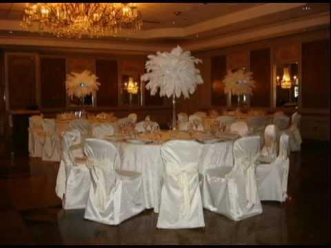 Ostrich Feather Wedding Centerpiece Als By Sweet 16 Candelabras Avi