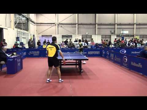 2014 Australian Open - David Powell (AUS) vs Zhan Jian (SIN)