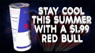 3D Red Bull can animation_1