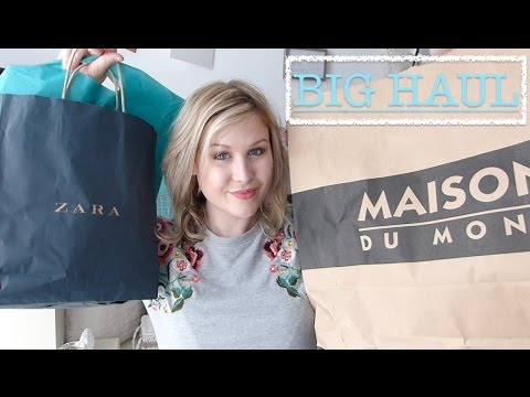 BIG HAUL printemps 2017⎮Mode Beauté Déco (Maison du monde,Action,Zara,Mango...)
