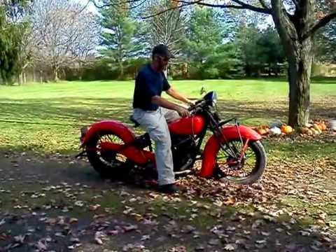 1937 indian chief motorcycle youtube. Black Bedroom Furniture Sets. Home Design Ideas