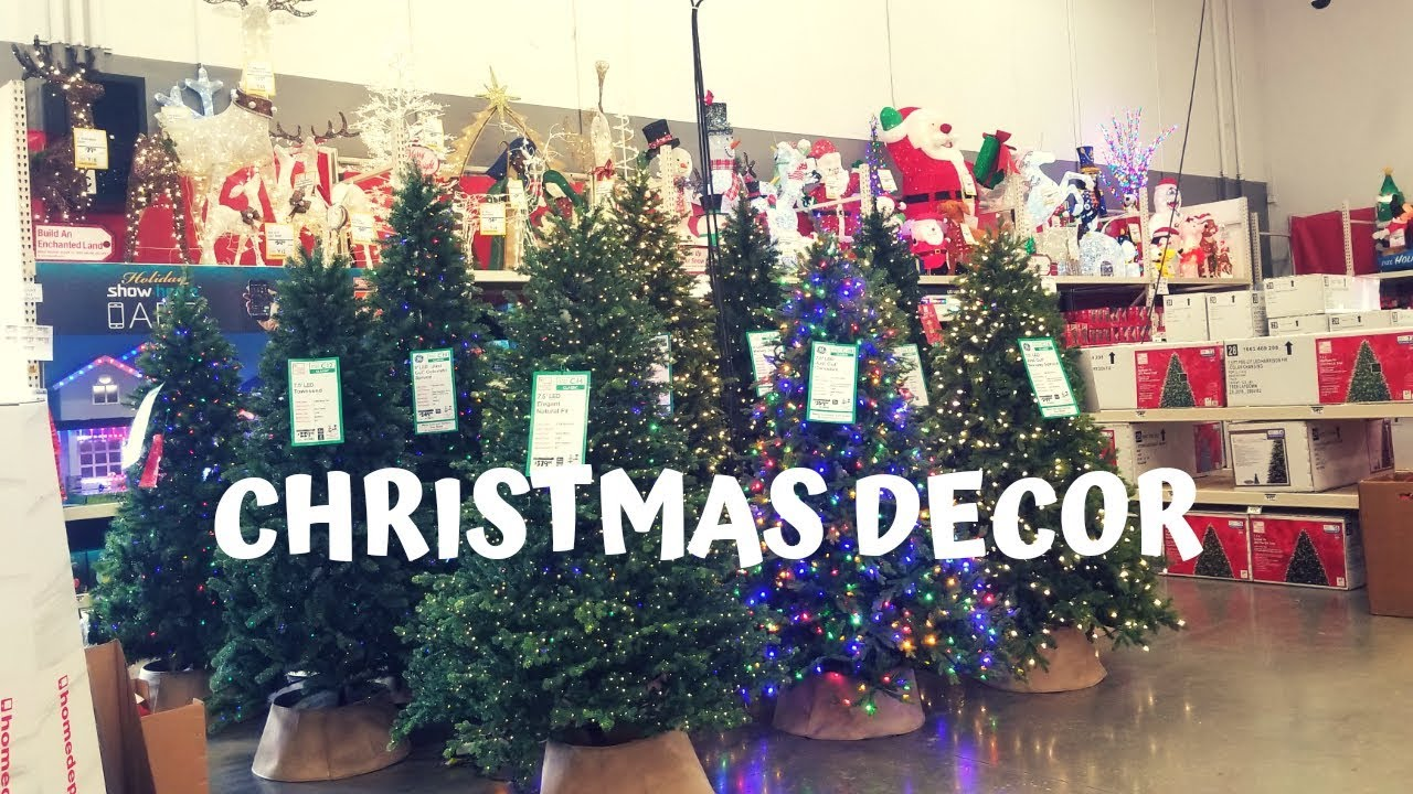 Christmas At Home Depot 2018 Youtube