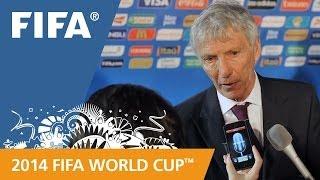 Colombia's Jose PEKERMAN Final Draw reaction (Spanish)