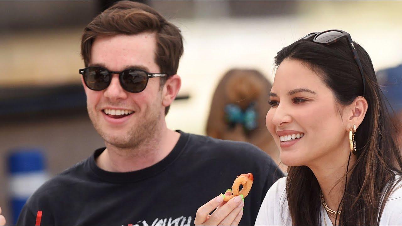 John Mulaney & Olivia Munn Break-Up Rumours Take The Internet ...