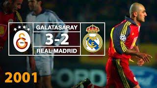 Nostalji Maçlar | 2000-2001 Sezonu Galatasaray 3 - 2 Real Madrid