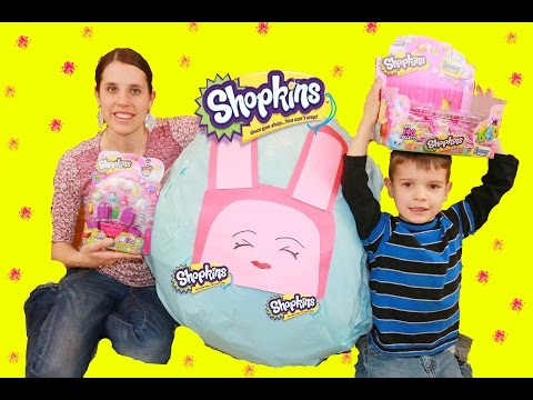 Shopkins GIANT Surpirse Egg  Shopkin Collection