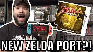 NEW Zelda Port Coming To Switch in 2018??!   8-Bit Eric