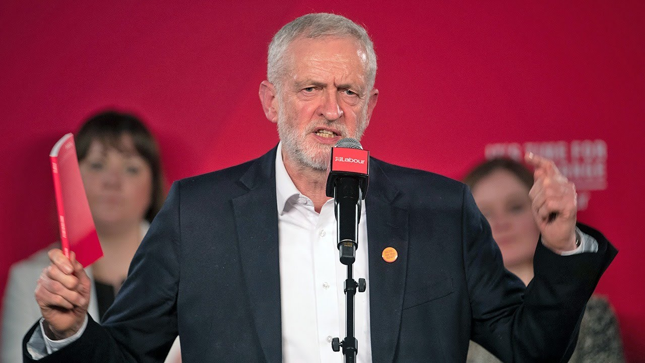 Jeremy Corbyn announces he will resign as Labour Party leader ...