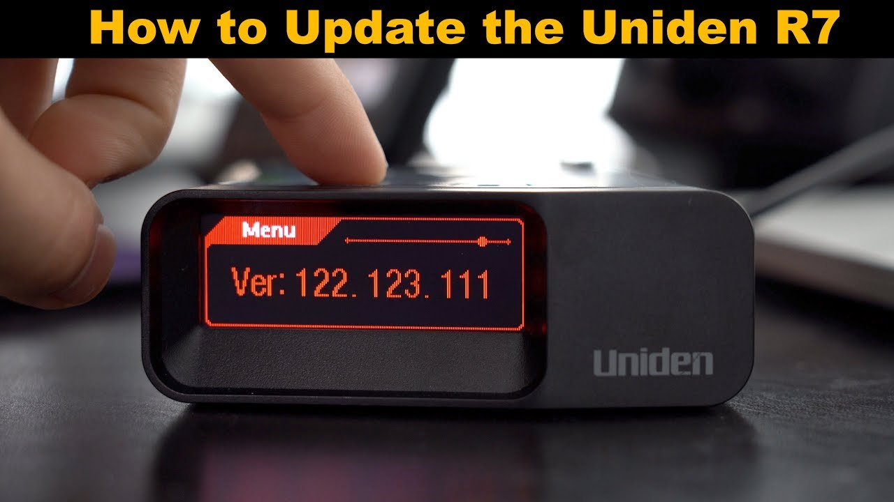 How to Update Your Uniden R7