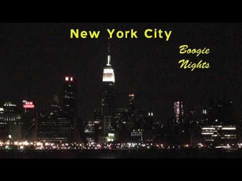 New York City Highways at Night