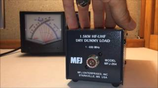 what is a dummy load mfj 264 for ham radio
