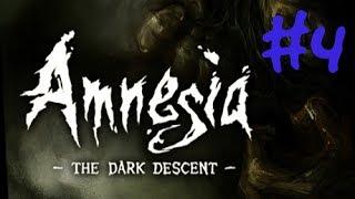 Amnesia: Mroczny obłęd - gameplay #4 (zapis z live'a)