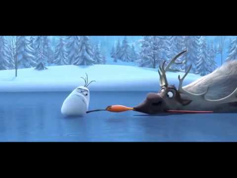 Frozen Olaf an Sven funny moment