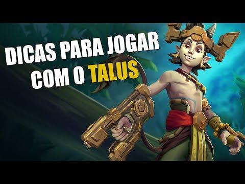 Paladins - Dicas para jogar com o Talus | Tarden