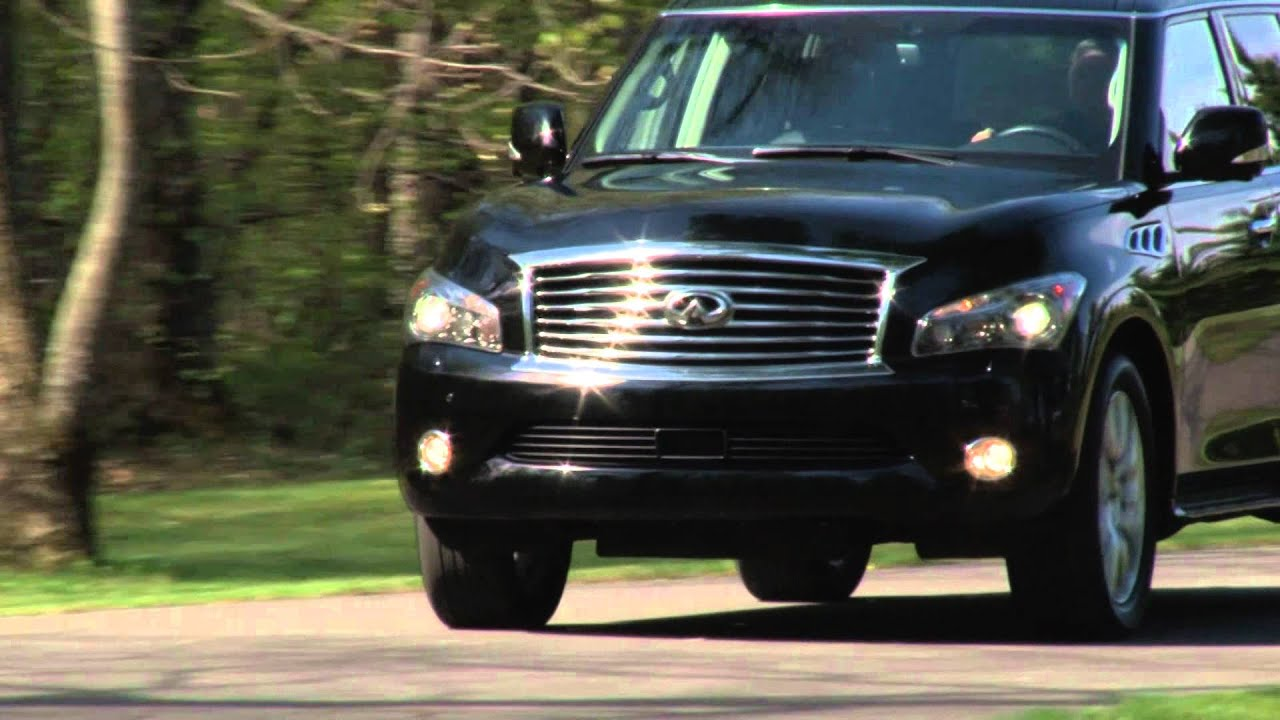 2012 infiniti qx56 drive time review with steve hammes youtube vanachro Gallery