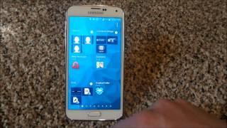 Adding A Contact To The Homescreen Of A Samsung