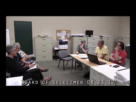 Board of Selectmen 08.23.17