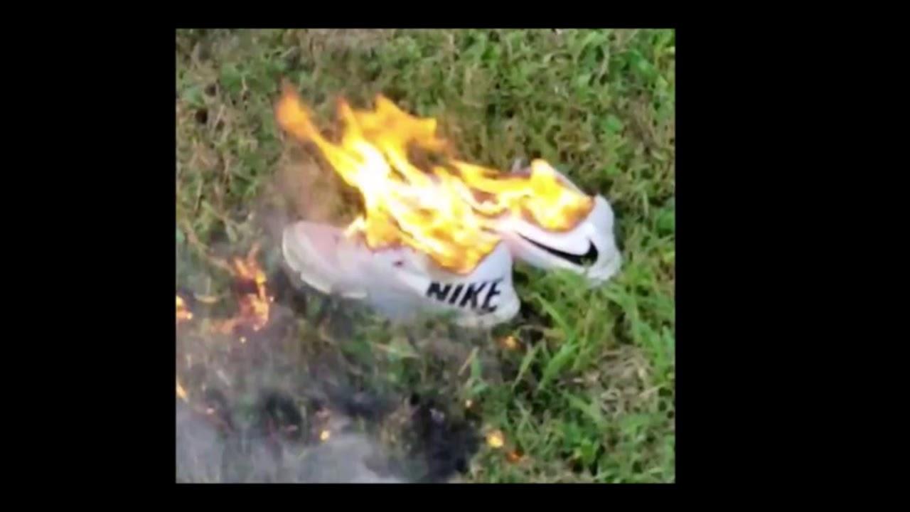 Nike Shares Drop Amid Backlash Over New Kaepernick Ad