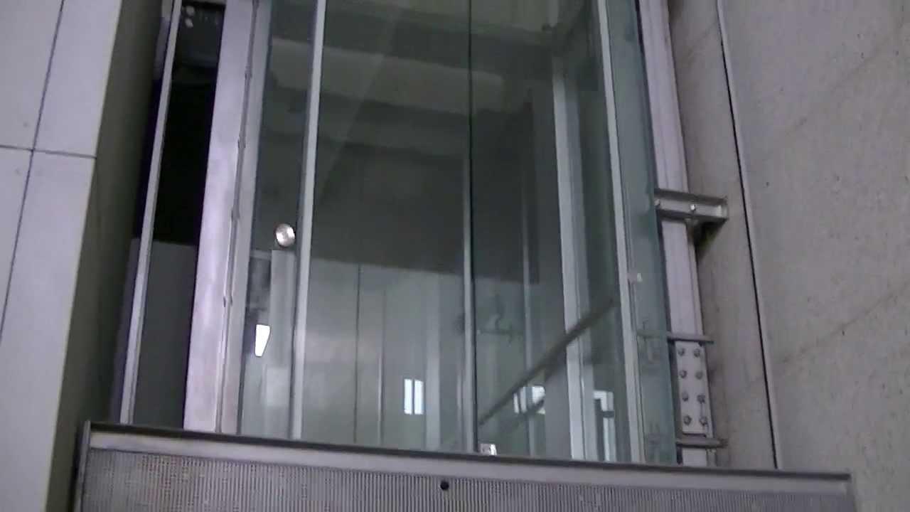 Nice Schindler Elevator With Glass Doors Youtube
