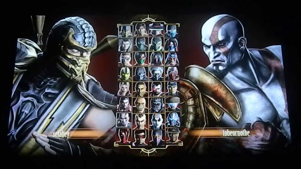 Mortal Kombat PS Vita Multiplayer Kratos Gameplay