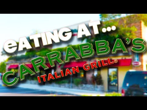 EATING AT - CARRABBA'S ITALIAN GRILL - ORLANDO