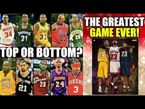 The Greatest NBA Game EVER! Which team would YOU CHOOSE?