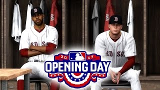OPENING DAY! HANGING OUT WITH DAVID PRICE! MLB THE SHOW 17 ROAD TO THE SHOW