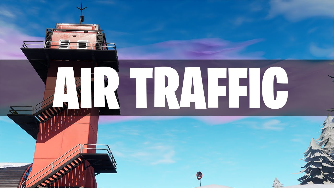 Fortnite: AIR TRAFFIC CONTROL TOWER Location (Dance On Top