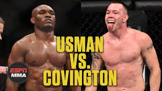 Kamaru Usman vs. Colby Covington Breakdown | UFC 245: Unlocking Victory | ESPN MMA