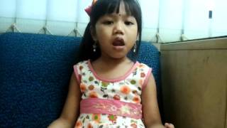 little chinese girl sing bajan ( tamil song ) Veneka Sam Lee