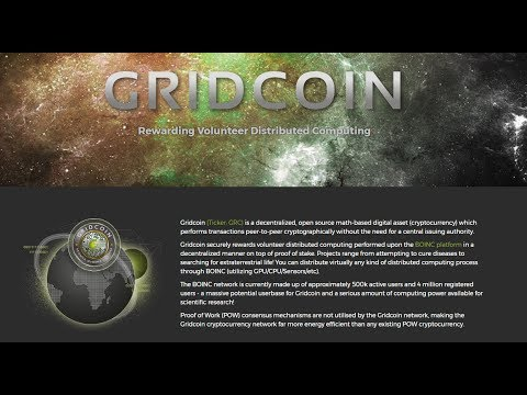 Undervalued Cryptocurrencies: Gridcoin (GRC)