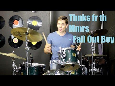 Thnks fr th Mmrs Drum Tutorial - Fall Out Boy