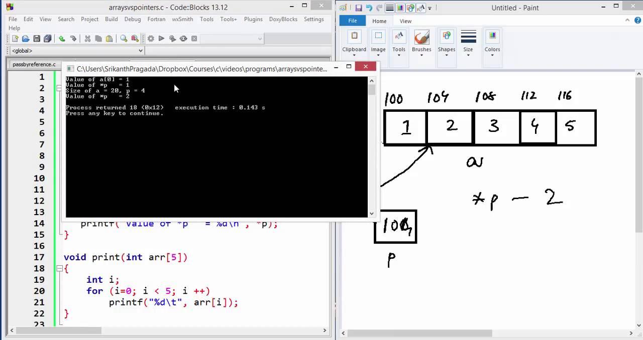 C++ Watch Window - Casting Pointer To Array