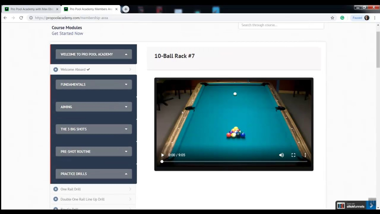 Pro Pool Academy with Max Eberle How To Play Pool