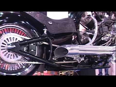 Mahina with radial engine 200 mph chopper