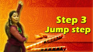 Learn Garba Dance Steps With Phulwa Khamkar - Step 3 - Jump - Navratri Special