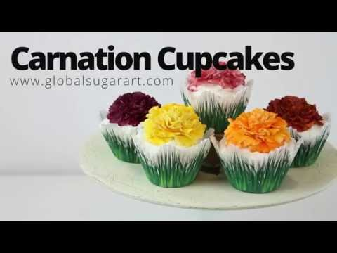 "Carnation Cupcakes ""Fast & Fabulous"""