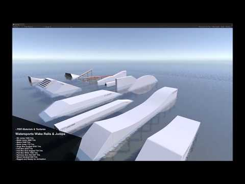 Wakeboard Wakeskate Obstacles Pack Demo Video