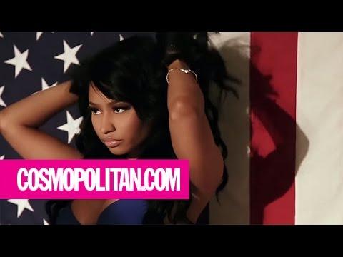 Nicki Minaj | Behind the Scenes | Cosmopolitan