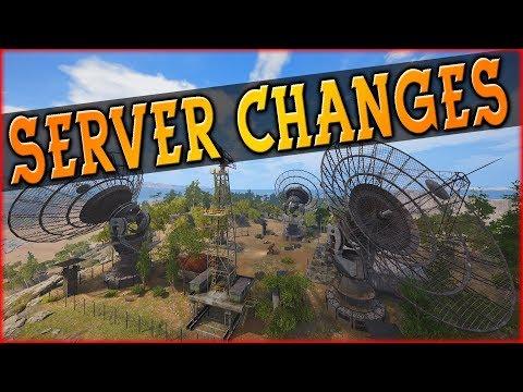 SERVER CHANGES - SCUM