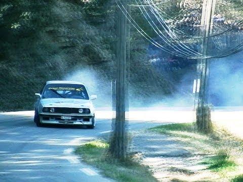 BMW E30 HILLCLIMB DRIFT !!