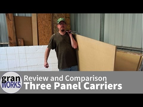 Review: Panel Carry vs Gorilla Gripper vs Panel Pal