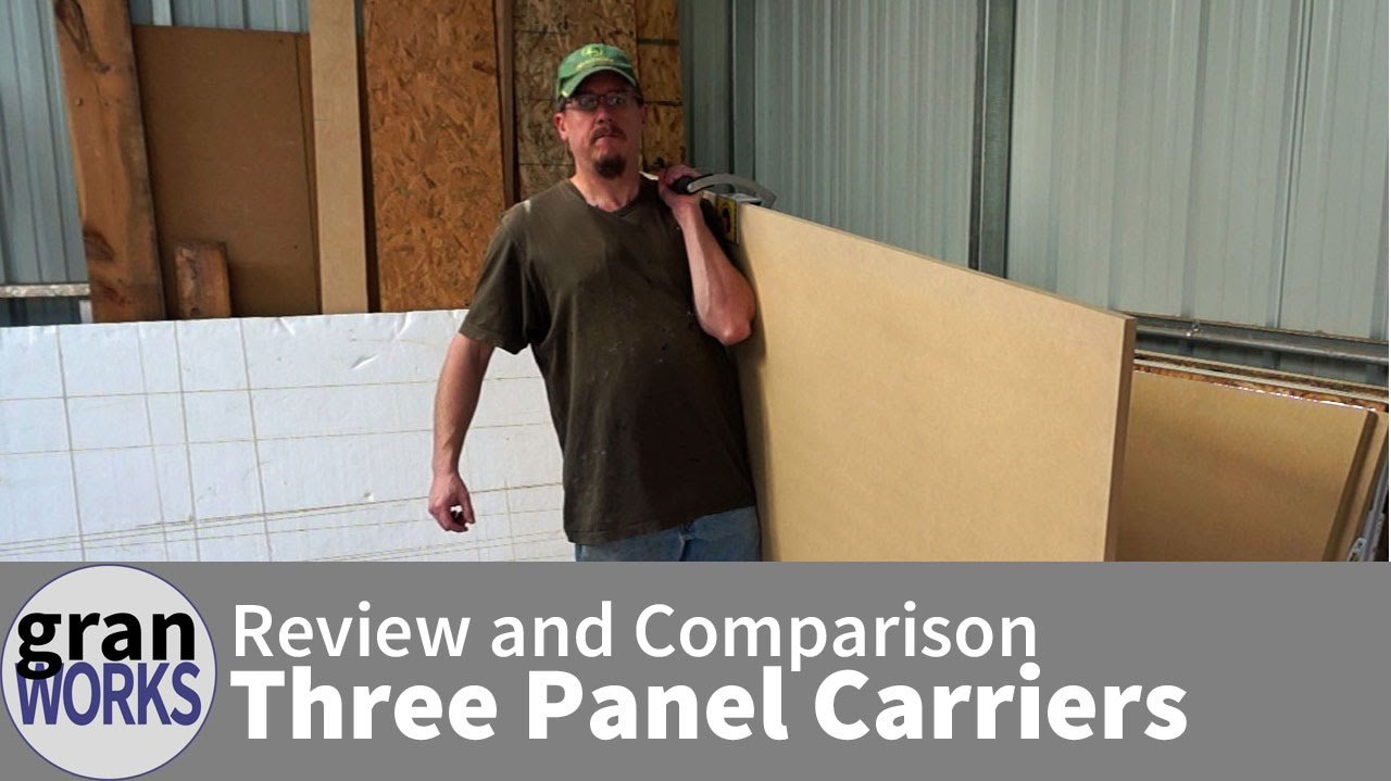 Review Panel Carry Vs Gorilla Gripper Vs Panel Pal Youtube