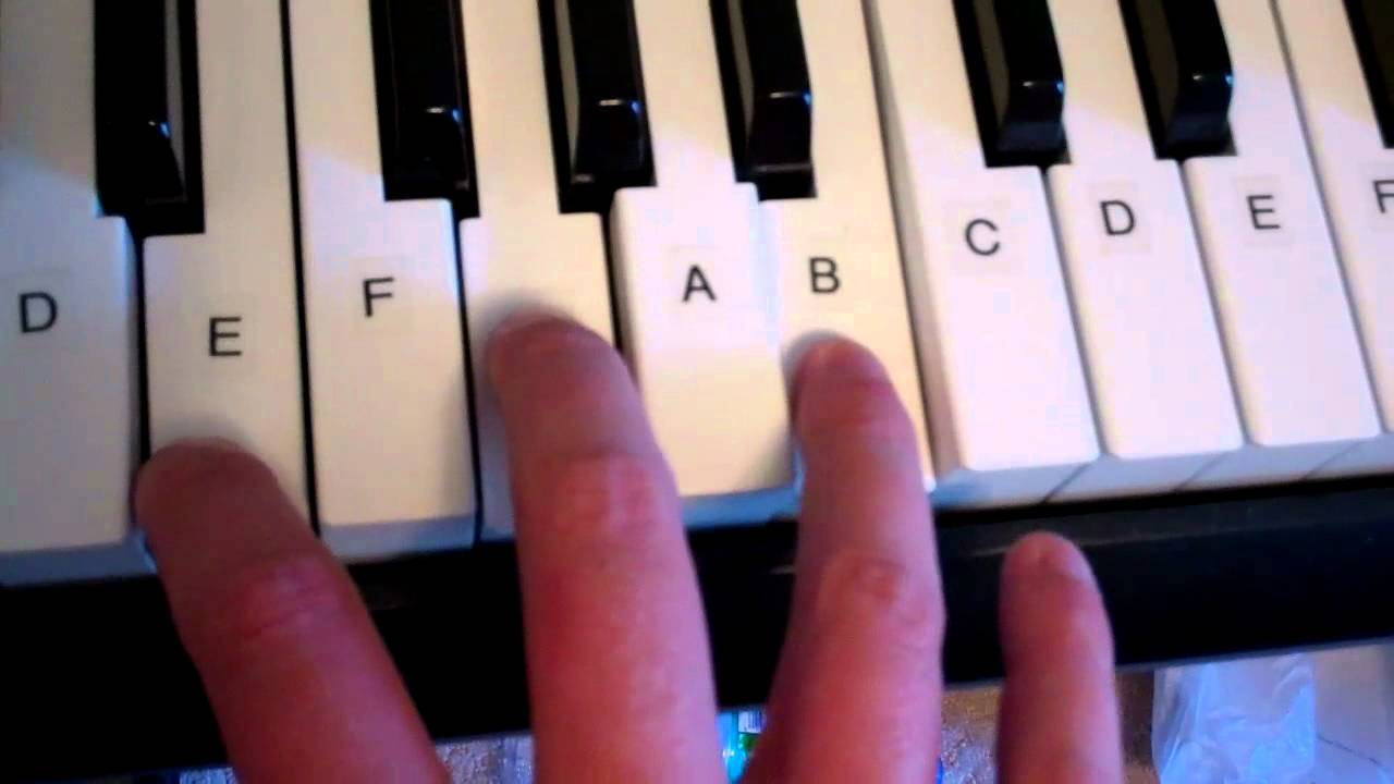 E minor chord piano keyboard demo youtube hexwebz Image collections