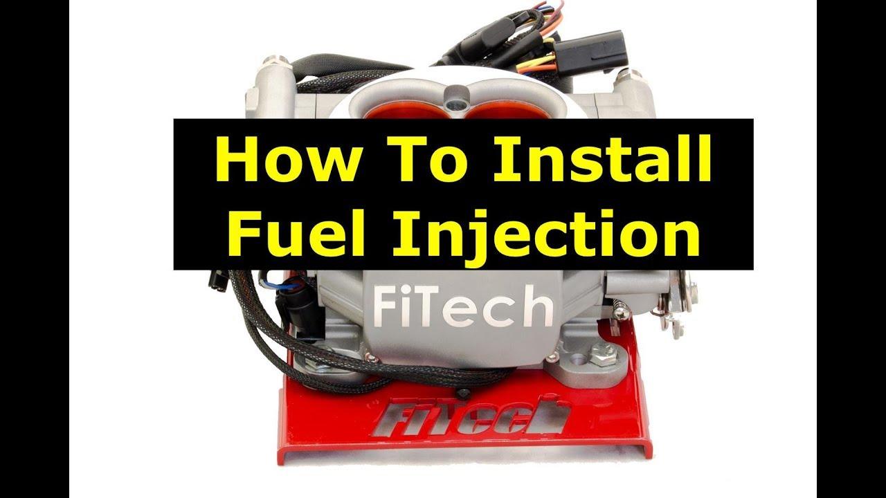 1970 Chevrolet Chevelle Malibu Fuel Injection FiTech Conversion Part 1