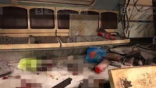 Взрыв в метро первые секунды 14:20 СПБ 3 апреля , снимали чисто случайно