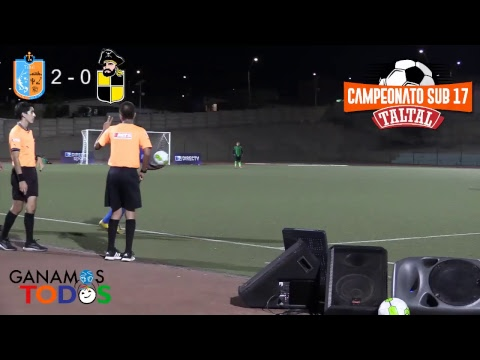 Taltal vs Coquimbo Campeonato Sub-17 Taltal 2018