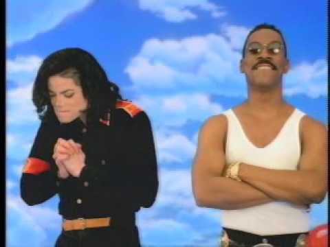 Michael Jackson and Eddie Murphy