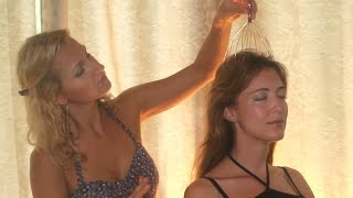 HAIR SOUNDS: Binaural ASMR HAIR brushing & HEAD massager with for relaxation